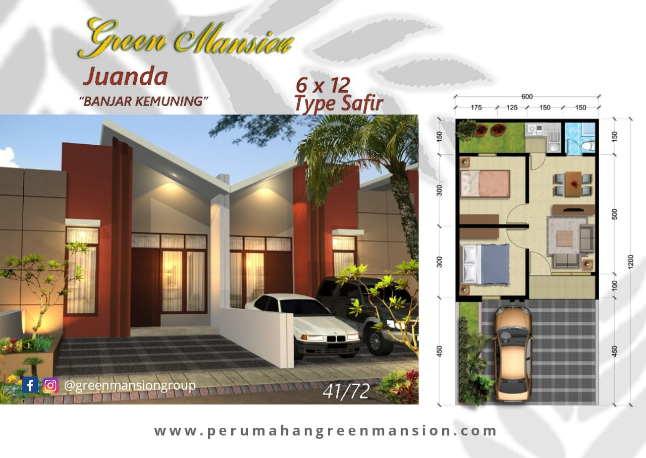 Green Mansion Juanda Type Safir