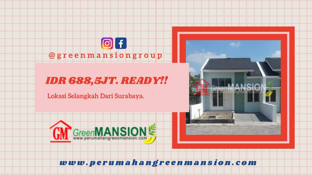 Promo Green Mansion Lontar Type Dahlia